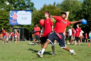IT Sports League Kicks Off Dodgeball Season